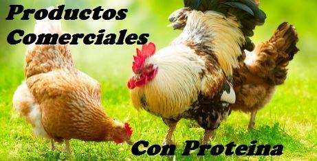 productos con proteina para aves